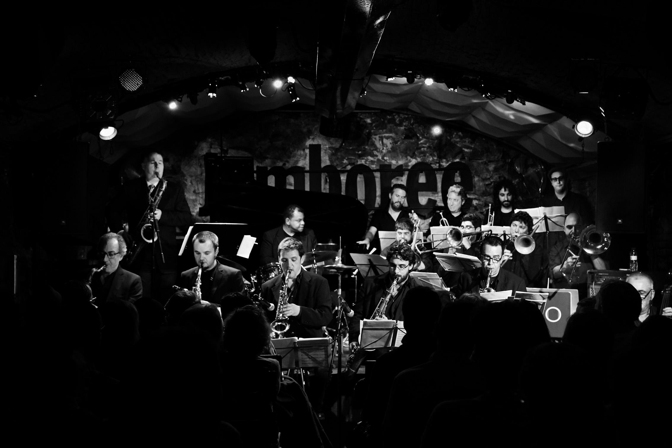 Allen & The Barcelona Jazz Orquestra