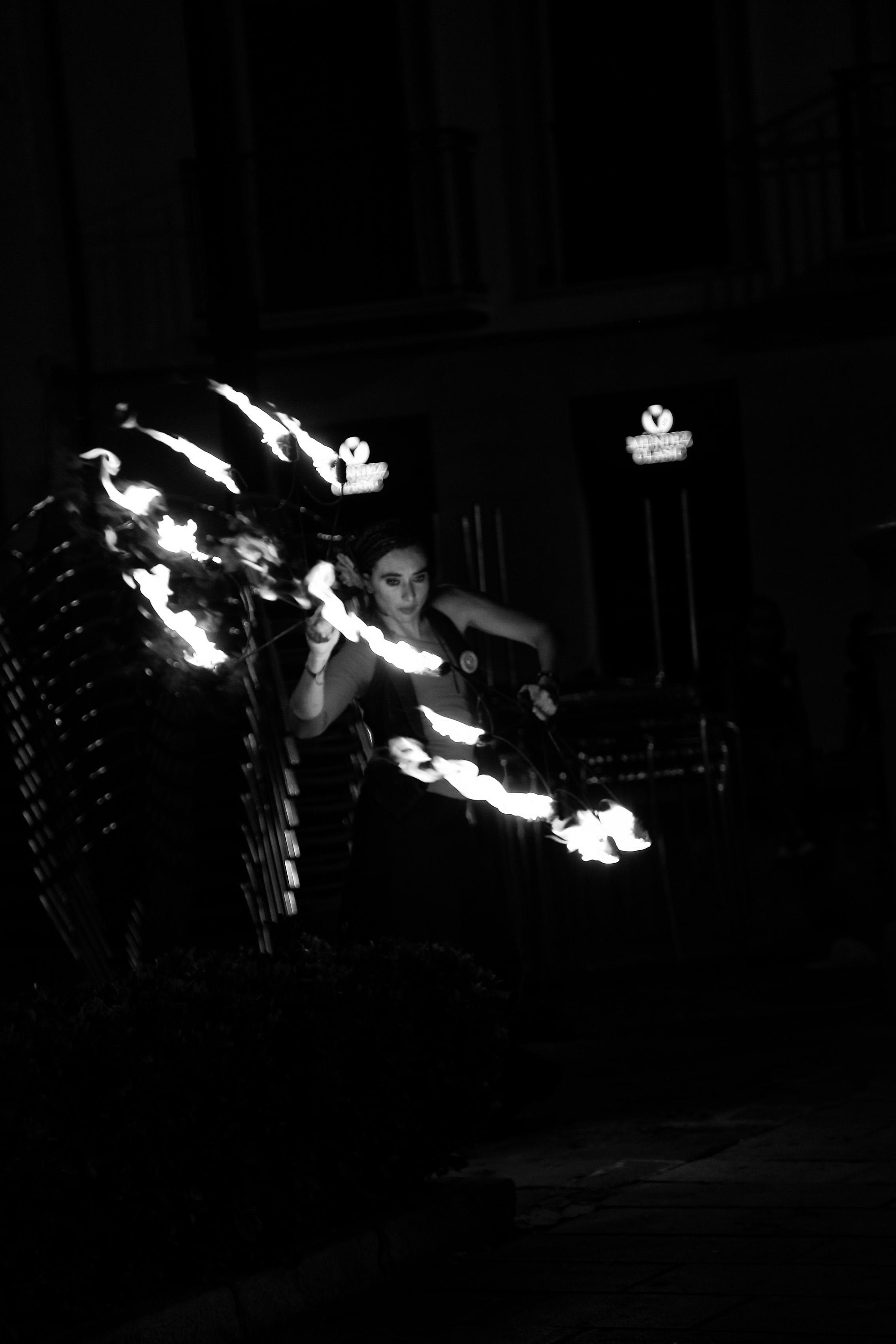 Fuego en movimiento