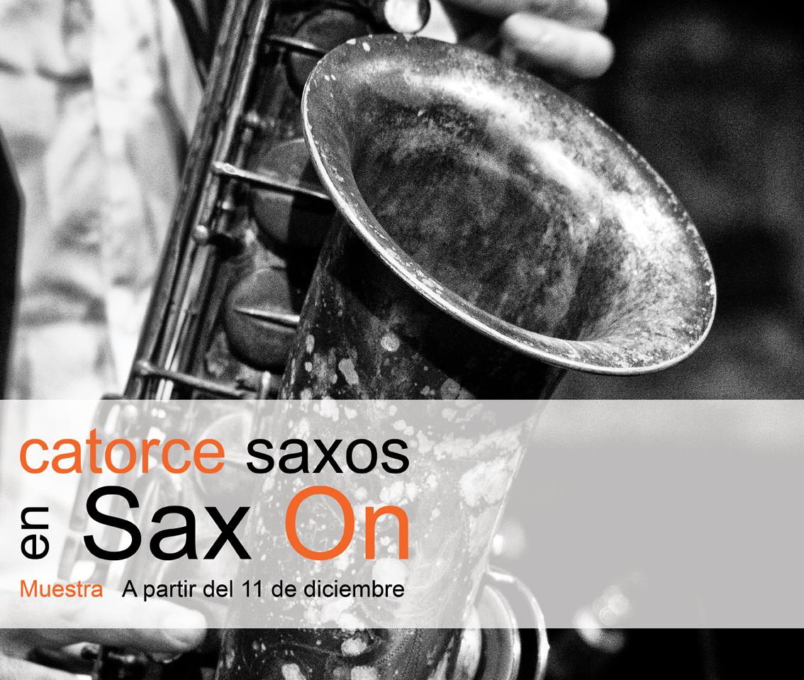 Catorce saxos en Sax-On