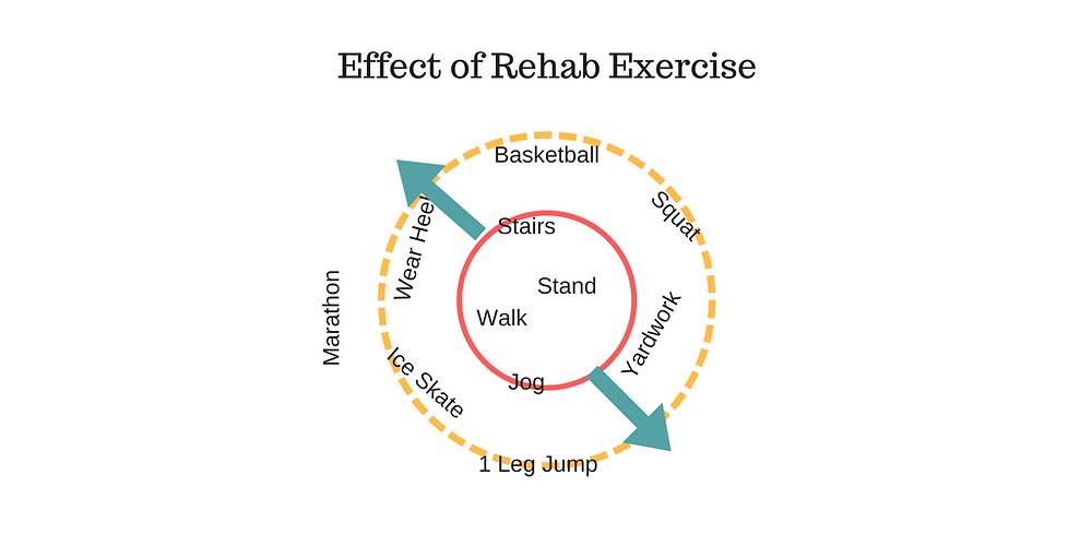 Rehabilitation Effect on Tissue Loading Tolerance