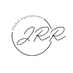 Ivory & Tan Typographic Script Circle Lo