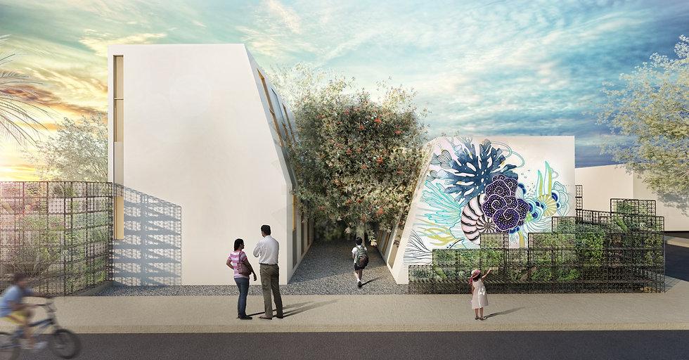 Arquitectura de reciclaje