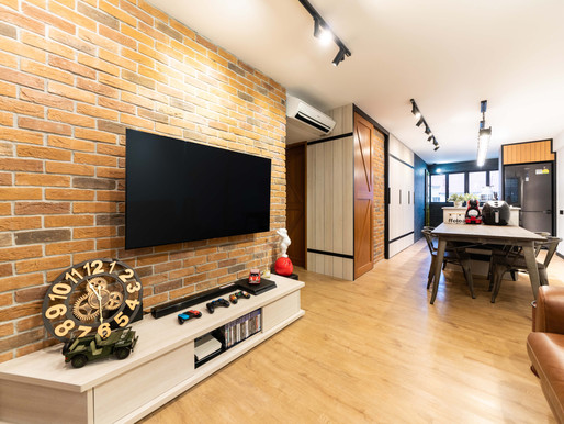Type of carpentry work: Living & dining area
