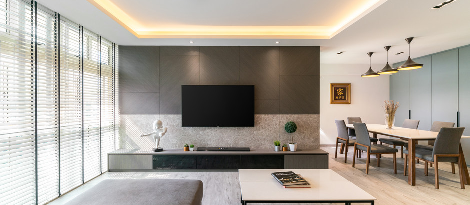 Breaking down renovation cost for living & dining  (Ceiling Work)