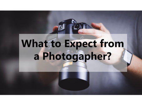 What to expect when you hire a photographer.