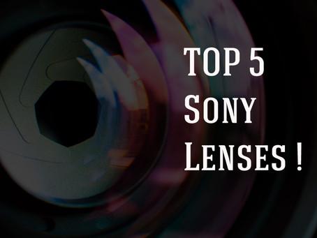 Top 5 Sony Lenses
