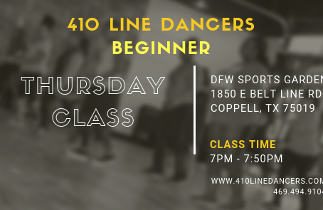 *New* Beginner Soul Line Dance Class (Thursday's)