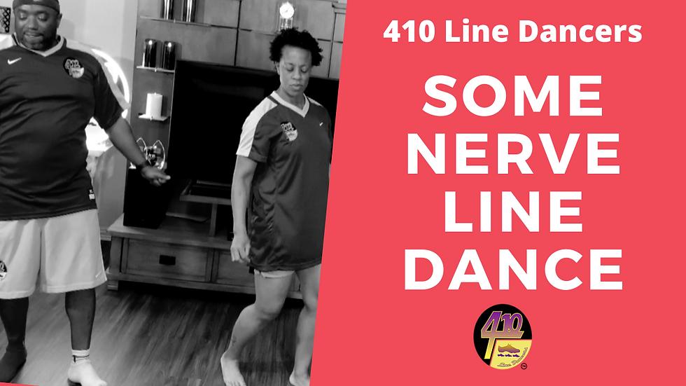 Some Nerve Line Dance
