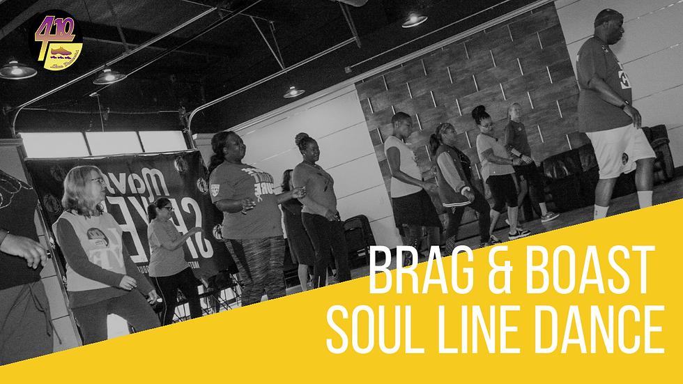 Brag and Boast Line Dance by 410 Line Dancers, Dallas Tx