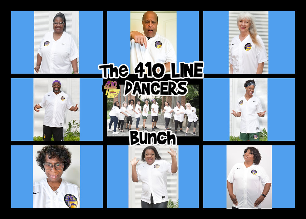 The 2021 – 410 Line Dancers Annual Photo Shoot
