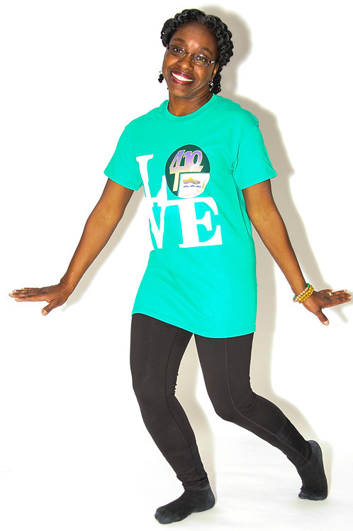 410 Line Dancers LOVE - Logo Shirt