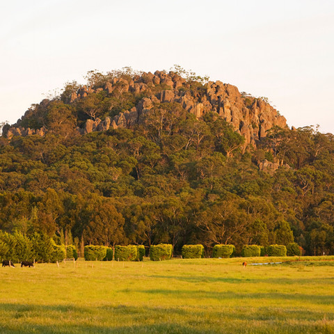 Beautiful Hanging Rock