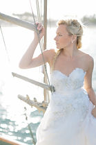 oceanside bride,oceanside wedding,wedding hairstyle,wedding photoshoot,wedding santa barbara,wedding dress,wedding by the ocean,wedding on a boat,bridal makeup,wedding at the pier,bridal braid,santa barbara maritime museum,sweetheart wedding dress