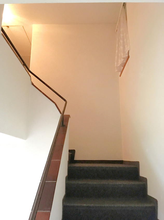 Wohlen vorher Treppe