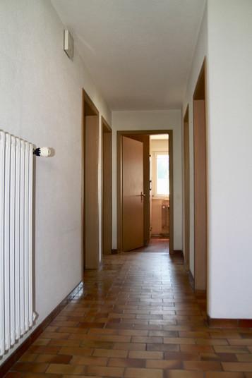 wohlen vorher Eingang Korridor