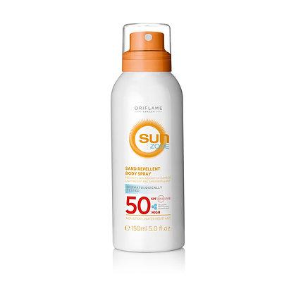 Sun Zone Sand Repellent Body Spray SPF 50 High