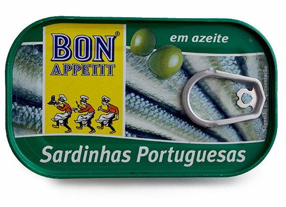 Bon Appetit Sardines in Olive Oil 120 g