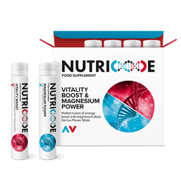 NUTRICODE - Vitality Boost & Magnesium Power