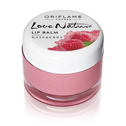 Love Nature Lip Balm- Raspberry 7g