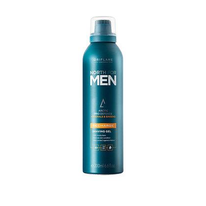 North for Men Recharge Shaving Gel