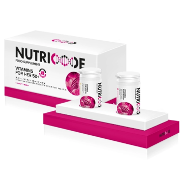 SYSTEM NUTRICODE - Vitamins for her 50+