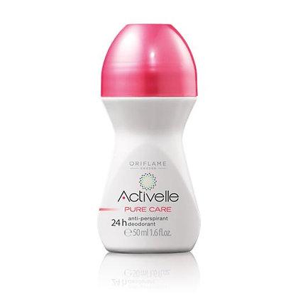 Activelle Pure Care Anti-perspirant 24h Deodrant Cream 50 ml