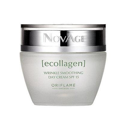 NovAge Ecollagen Wrinkle Smoothing Day Cream SPF 15- 50 ml