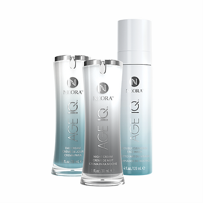 Night Cream, Day Cream & Double-Cleansing Facial Wash Combi Pack