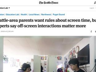KidTalk in the Seattle Times
