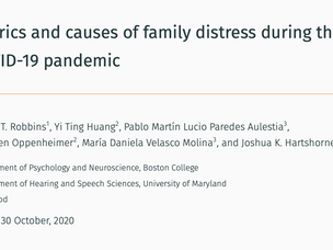 Family Distress During Covid-19