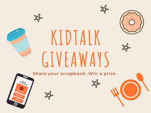 Share Your Scrapbook and Win A Prize!