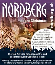 Inserat Advents-Apéro Nordberg City
