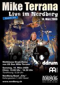Drummer Mike Terrana im Nordberg City