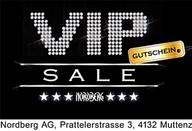 VIP Sale im Nordberg Muttenz