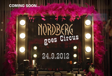 Nordberg goes Circus! Save the Date Karte