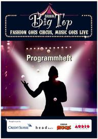 Big Top Programmheft