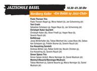 Nordberg als exklusiver Jazz-Keller am Bebbi Jazz 2009