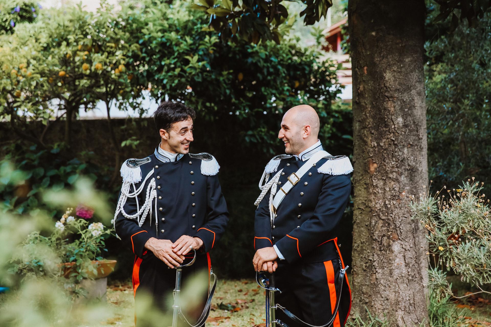 Carabinieri in divisa