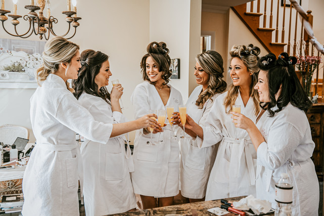 bridesmaids for a party