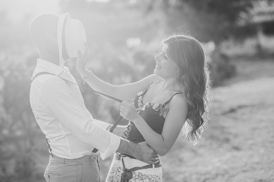 Anteprima di matrimonio vintage