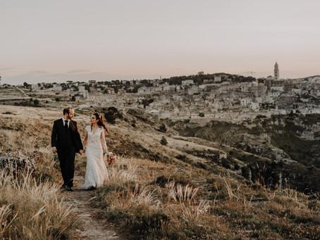 Matrimonio a Matera - Mario e Anna - Infinity Studio Fotografico
