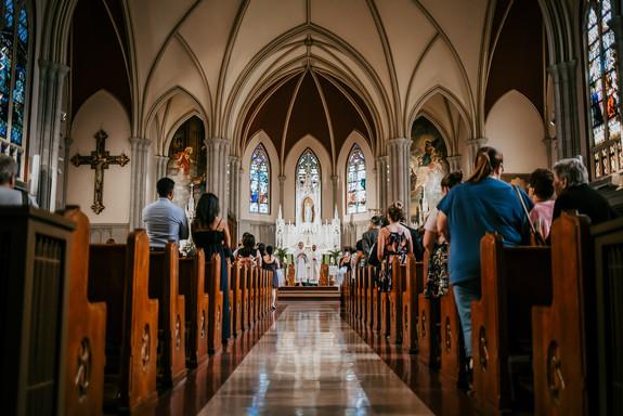A wedding in New York