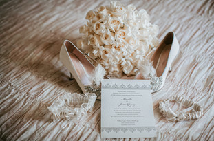 Flower -shoes and details bride