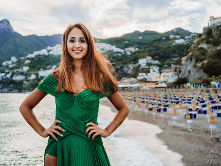 Federica: 18 Anni verde smeraldo by Infinity Studio Fotografico