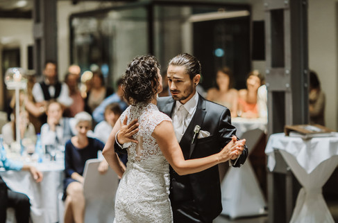 Dance with a bride