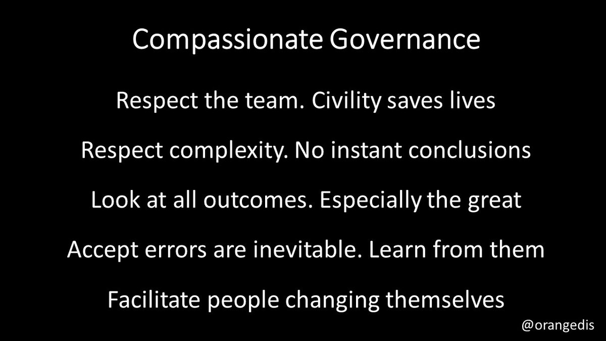 Compassionate governance