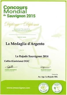 Sauvignon 2014 - Concours Mondial Du Sauvignon