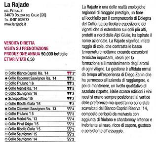 Vini d'Italia Gambero Rosso 2018