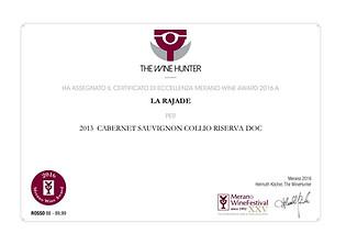 Cabernet Sauvignon Riserva 2013 - Wine Hunter