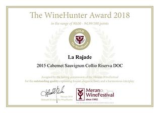 Cabernet Sauvignon Riserva 2015 - Wine Hunter